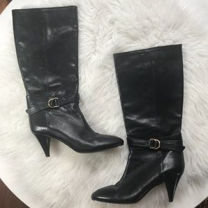 Loeffler Randall Leather High Boots